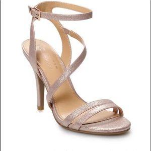 NEW LC Lauren Conrad Colada strappy high-heels